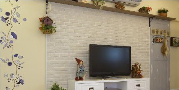 2014文化石电视背景墙效果图-大自然文化石