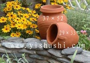景观陶罐组合1