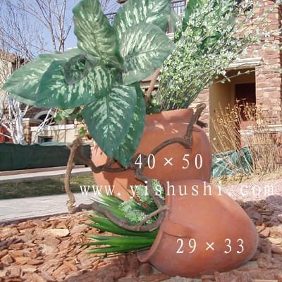 组合景观陶罐16